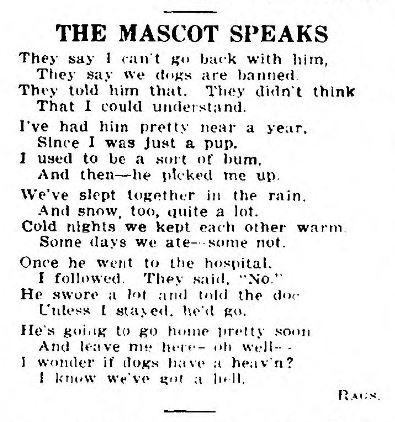 Mascot Speaks