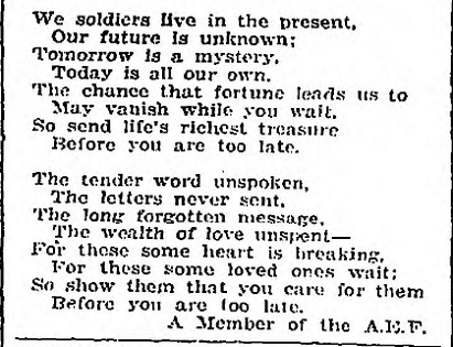 Our Best Pal - Excerpt - September 6 1918